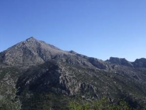 sommet de montagne de zaghouan