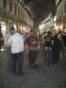 vendeur de thé à Damas en Syrie