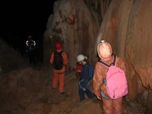 speleologie tunisie grotte de la mine