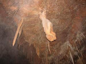 stalactites grotte de la mine