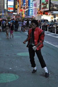 un mendiant à New york