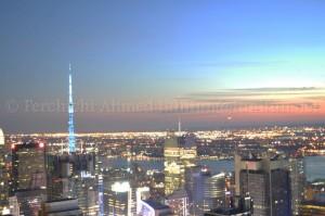 Vue de New York depuis le Rockefeller building