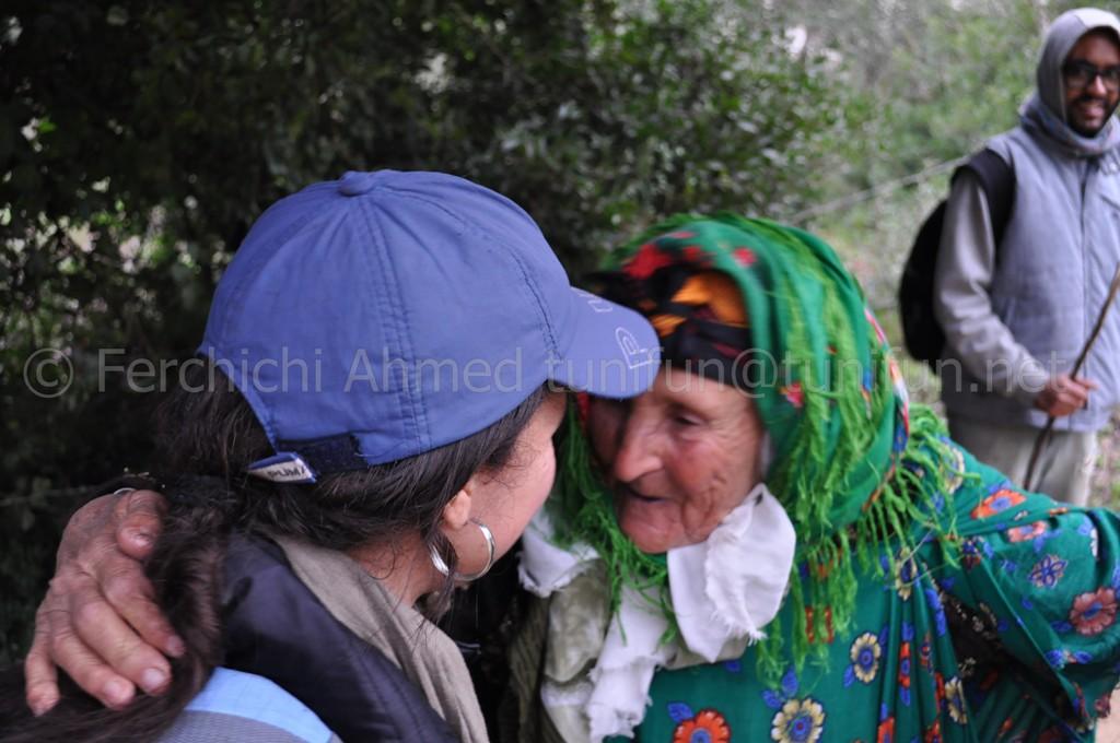habitants village Bayadh