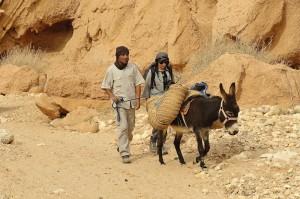 randonnée désert tunisie