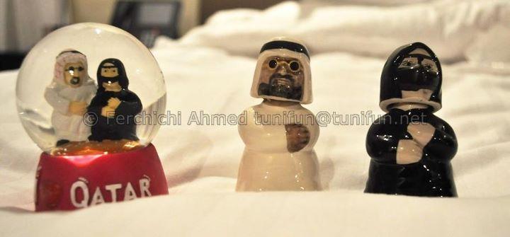 Souvenirs voyage Qatar