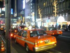 taxi japonais