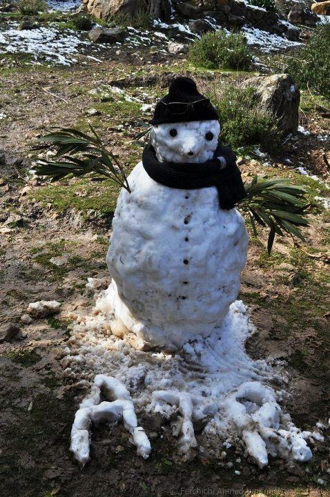 bonhomme de neige tunisie