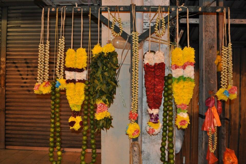collier jasmin hindou