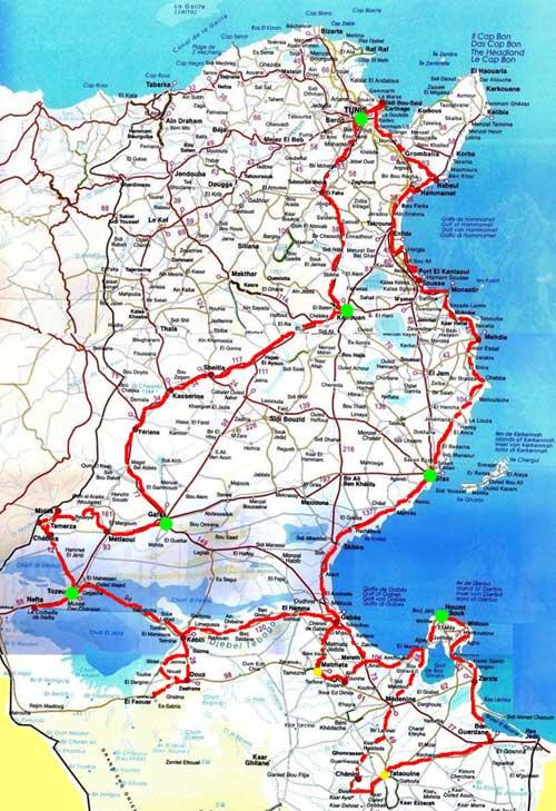 voyage tunisie circuit