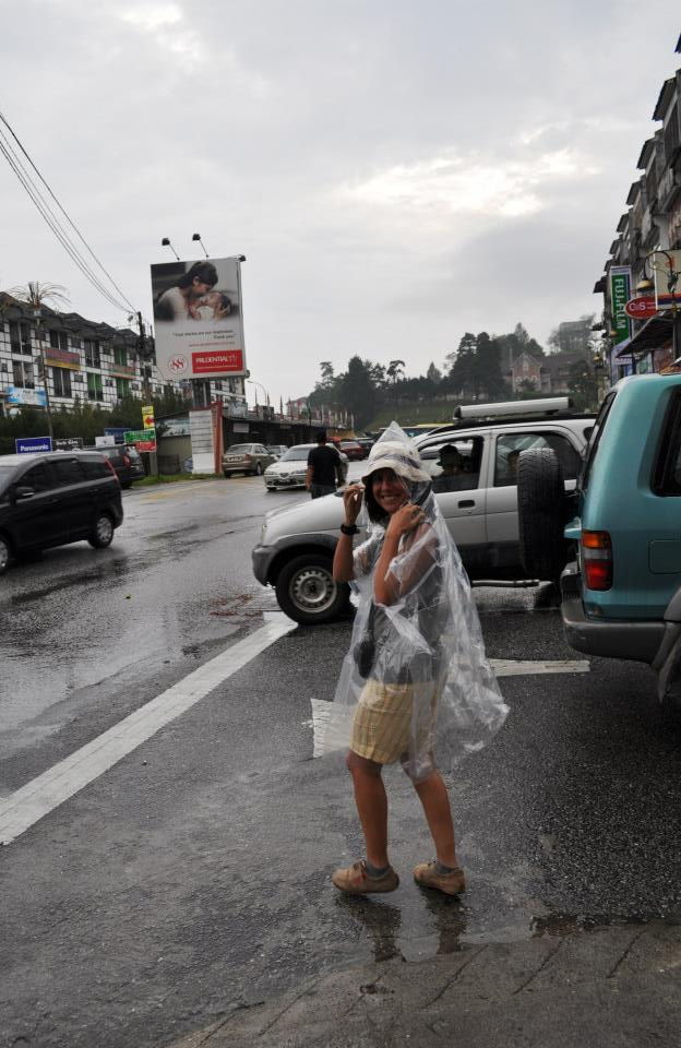 pluie cameron highlands
