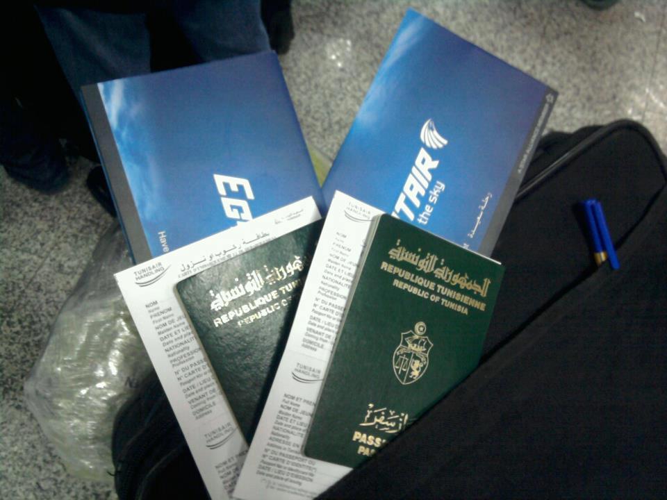 voyage tunisie passeport