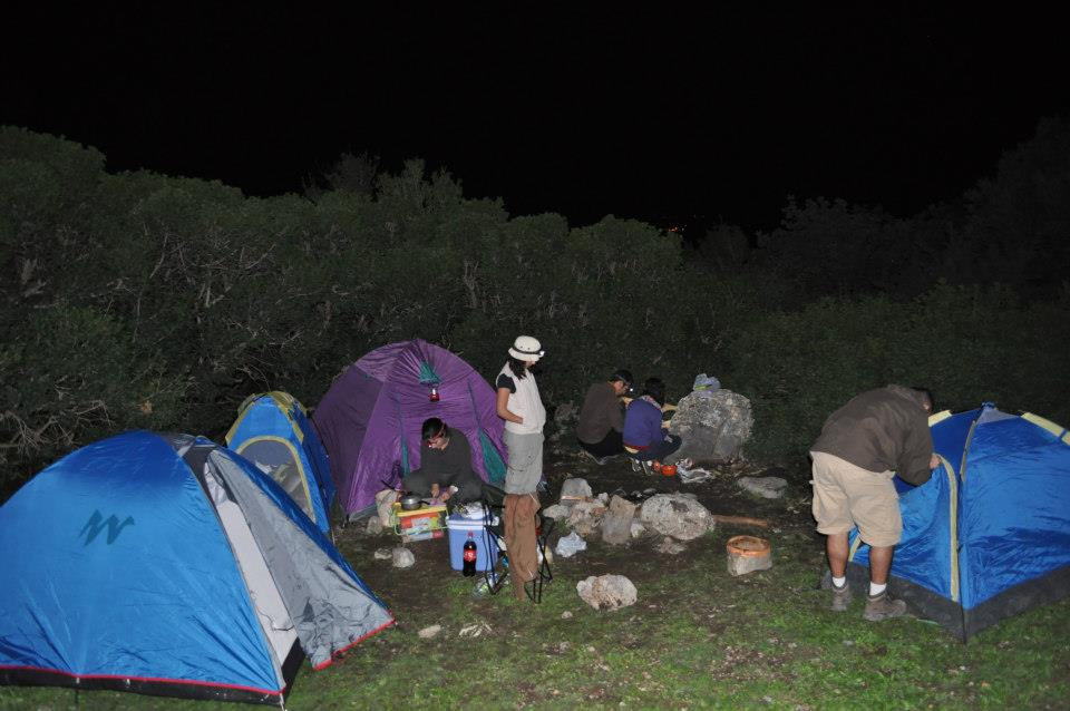 camping zaghouan tunisie