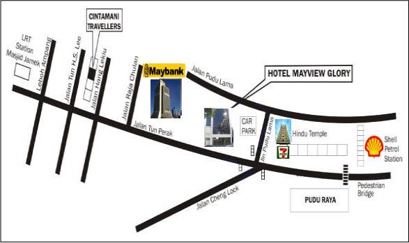 emplacement hotel mayview glory kuala lumpur