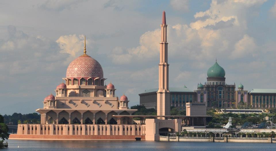mosquee rouge putrajaya