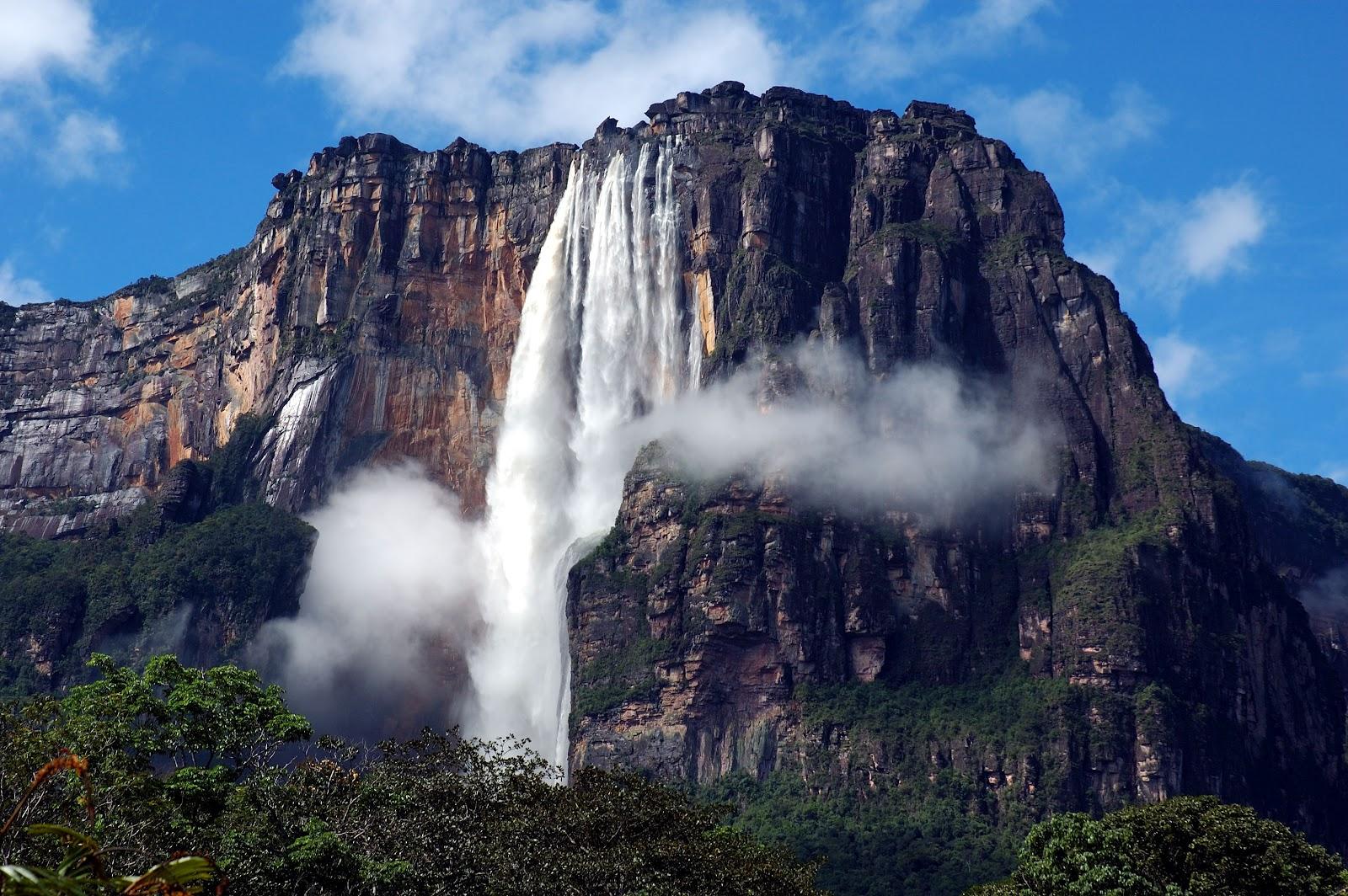 Angel Falls au Venezuela