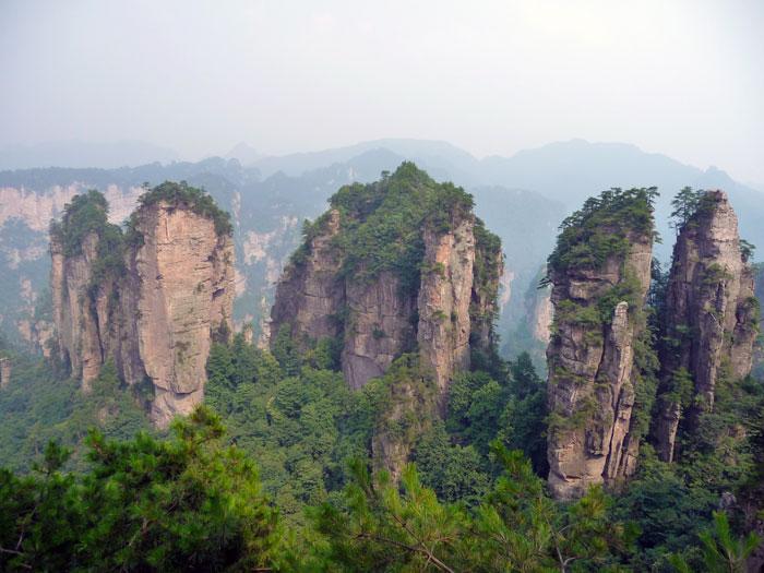 Montagnes de Tianzi Chine