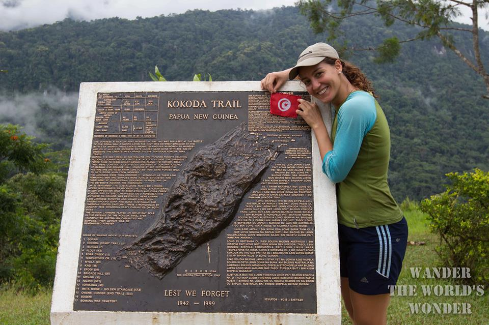 Wander the Worlds Wonder kokoda