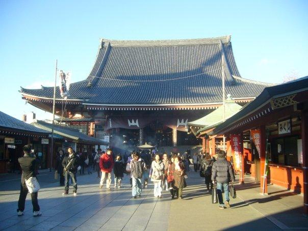entree 2eme temple senso ji