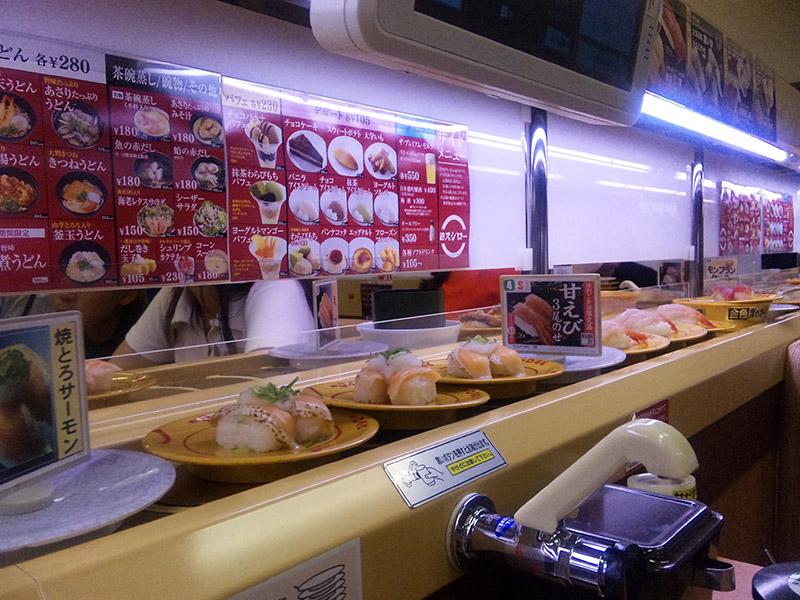 kaiten sushi Asakusa
