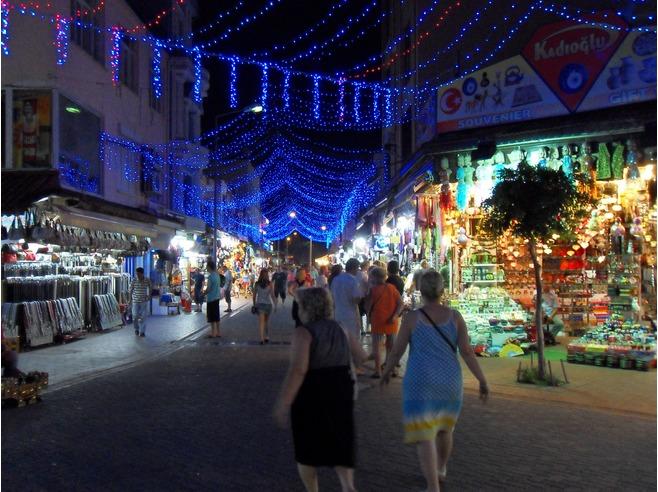 Antalya le soir
