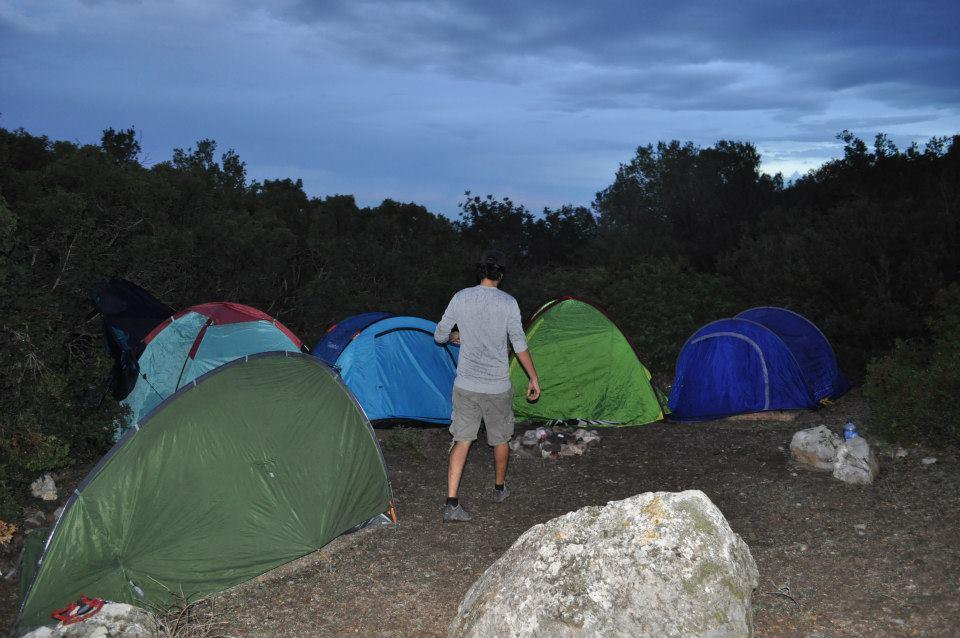 Camping Tunisie - Tentes abri