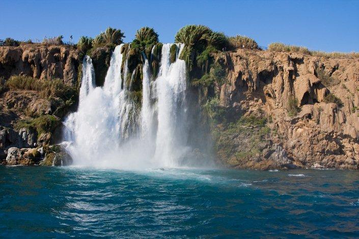 Chute d eau Antalya Turquie