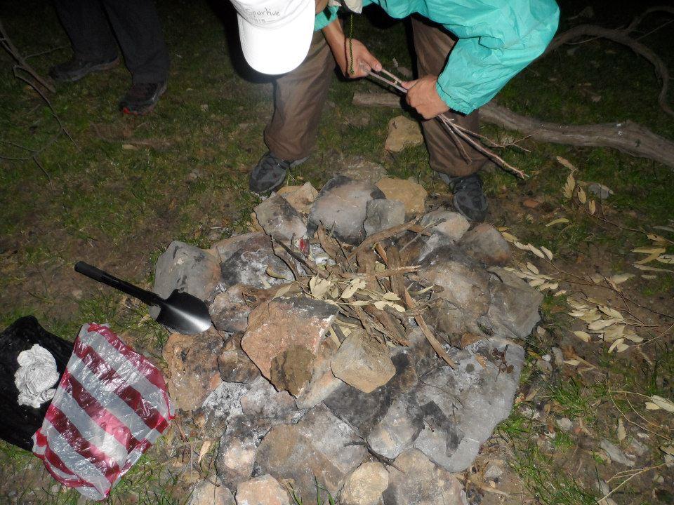 preparation feu camping tunisie