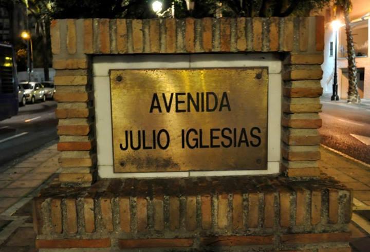 Marbella Avenida Julio Iglesias