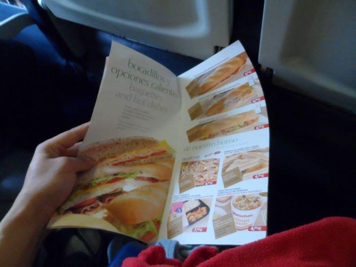sandwich Air europa
