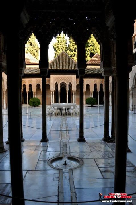 Cour des lions palais nasrides Alhambra