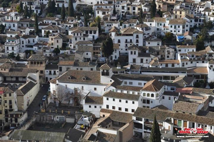 Quartier Albaicin Alhambra Grenade