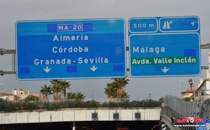 Route Granada