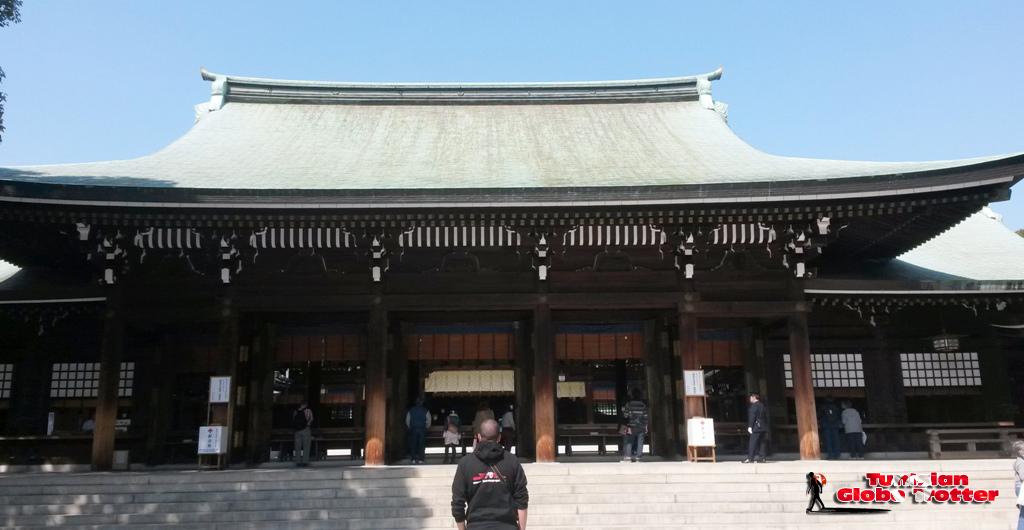 Yoyogi Koen Meiji Jingu