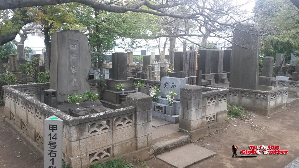Cimetiere japonais
