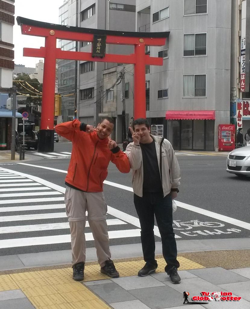 Tunisian Globe Trotter Gaijin in Japan - Ueno - Tokyo - Japan