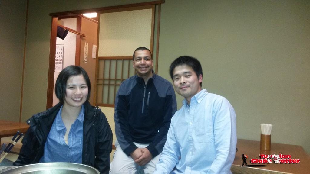 Tunisian Globe Trotter Yusuke Japon