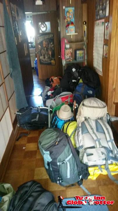 Bagages voyageurs japon