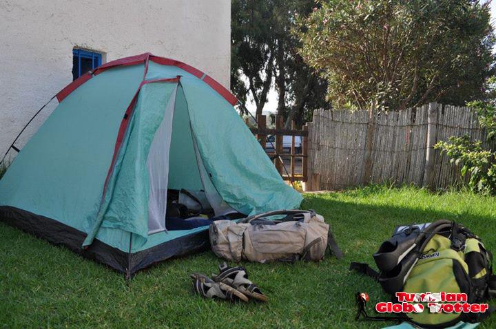 Camping Jardin Auberge Cap Serrat