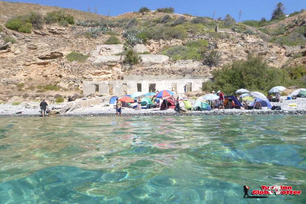 Camping Ile de la Galite