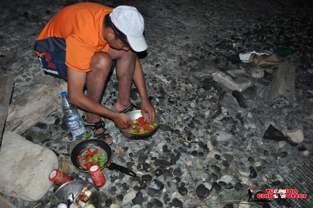 Cuisine Camping Galite