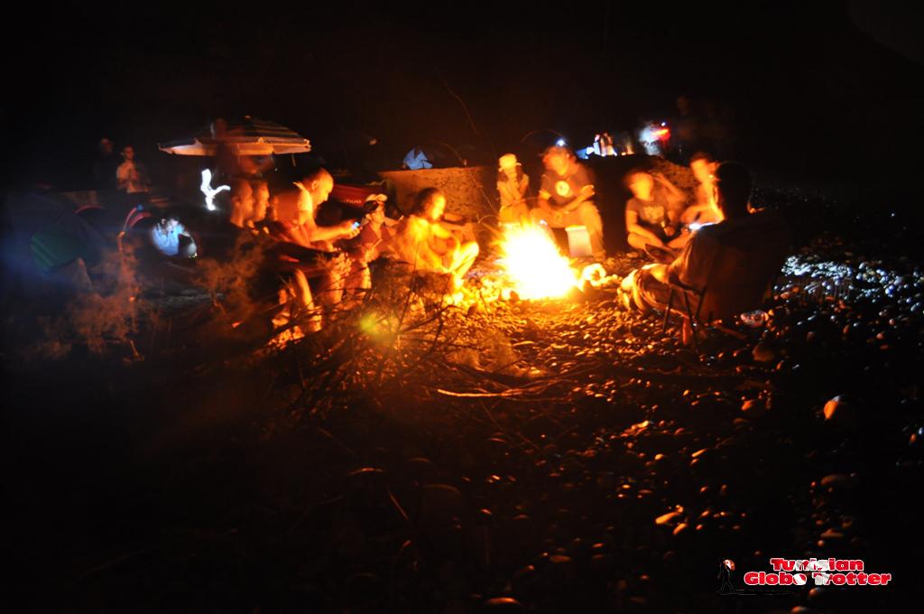 feu de camp Galite