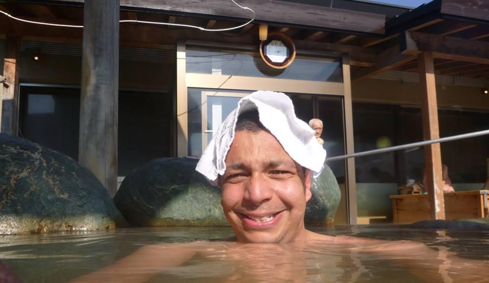 hot spring onsen japon